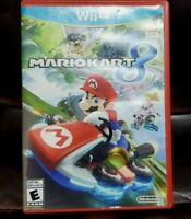Mario Kart 8 COMPLETE TESTED Nintendo Wii U CIB GREAT CONDITION