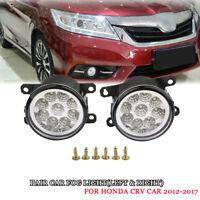 9 LED Nebelscheinwerfer Set mit DRL Tagfahrlicht Für 2012-2017 Honda CRV