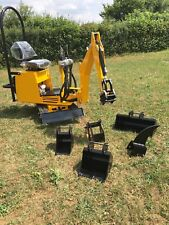 AX24 Micro Mini Digger 360 Excavator Briggs & Stratton Engine UK Built £5495+VAT