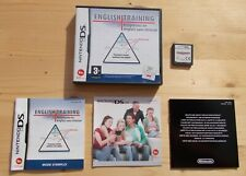 English Training VF Nintendo DS complet TBE