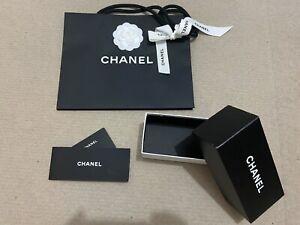 Chanel Empty Box  + Booklet + Blank Guarantee Card + Bag (Sunglasses)