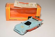 + SOLIDO 38 GULF LE MANS BLUE MINT BOXED