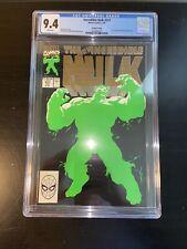The Incredible Hulk #377 Gold Variant CGC 9.4 Rare 2nd Print Professor Hulk