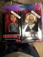 Mezco Toyz 78004 Good Guys 15in Talking Chucky Standard Doll With Tiffany