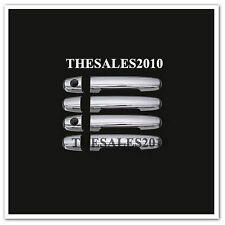 CHROEM 4 DOOR HANDLE HAND COVER FOR TOYOTA HILUX VIGO CHAMP SR5 MK6 2005-2014