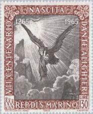 SAN MARINO - 1965 - Poet & Writer - Dante Alighieri (1265-1321) - MNH - #624