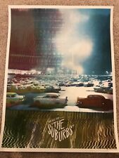 Arcade Fire: The Suburbs: Rock Poster: Numbered