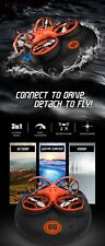3 in 1 Flying Air Boat Land Driving Mode Detachable One Key Eachine E016F