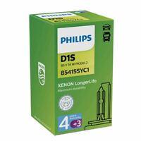 PHILIPS D1S 4300K LongerLife 85V 35W 7 Years Warranty Xenon Bulb 85415SYC1 4300K