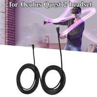 Für Oculus Quest 2 Link 5M USB 3,2 Kabel Daten Linie Dampf Typc VR M8W9
