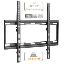 LCD LED PLASMA TV FIX WALL MOUNT, SCREEN BRACKET 26 28 29 32 40 42 46 47
