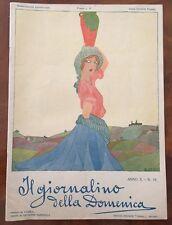 IL GIORNALINO DELLA DOMENICA Anno X, N. 18, 30 settembre 1922, Vampa Fanciulli