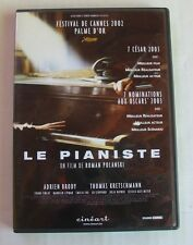 DVD LE PIANISTE - Adrien BRODY / Thomas KRETSCHMANN - Roman POLANSKI