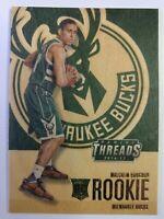 2016-17 Panini Threads Malcolm Brogdon Rookie RC #242, Milwaukee Bucks