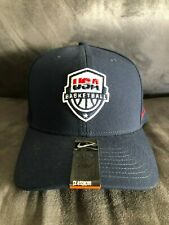 NWT USA Basketball Olympics authentic Nike adjustable Velcro hat