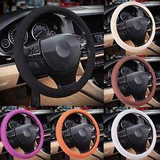 """38cm 15"""" Universal Fine Knited Ice Silk Eva Rubber Auto Car Steering Wheel Cover"""