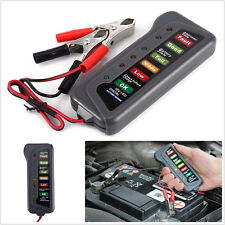12V Battery Alternator Charging Test Tester Car Van Motorbike With LED Indicator
