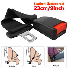 Universal Adjustable 9'' Car Seat Seatbelt Safety Belt Extender Extension Buckle