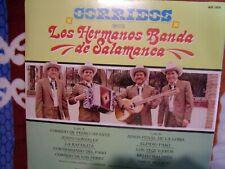 Disco de Vinilo Los Hermanos Banda De Salamanca Corridos 1989