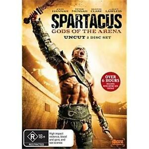 Spartacus - Gods Of The Arena 2DVD NEW