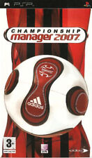 Championship Manager 2007 (PSP) PEGI 3+ Strategy: Management