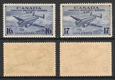CANADA 1942 KGVI SPECIAL DELIVERY EXPRESS DUO (UHM) (SG S13/S14; CV £10)