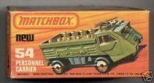 Repro box Matchbox Superfast nº 54 referente al personal Carrier