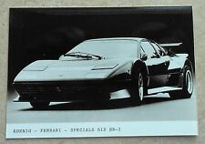 Ferrari 512 BBi Koenig Photo Press no book buch brochure prospekt depliant