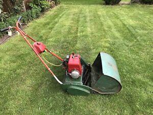 Suffolk Punch Lawnmower 14 - Petrol cylinder mower.