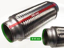 Auspuff Flexrohr Hosenrohr Katalysator Ø 45 x 250 Länge (mm)