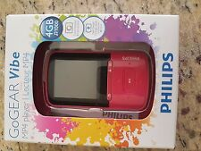 MP4 PHILIPS GOGEAR VIBE 4GB NUOVO ORIGINALE PINK