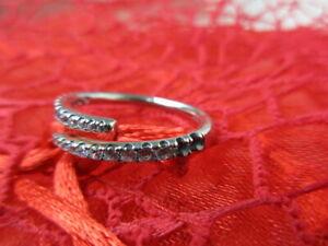 Pandora Damen-Ring Sternschnuppen Silber Zirkonia Damenschmuck OVP/Zubehör fehlt