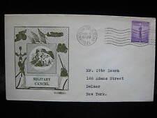 RANDOLPH FIELD TX WWII Postmark Cancel Patriotic Postal History Cover PERFIN