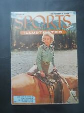 1954 SPORTS ILLUSTRATED MAGAZINE JOYCE SELLERS ACTRESS