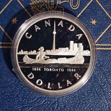 Canada 1984 SILVER Dollar PROOF .500 Fine