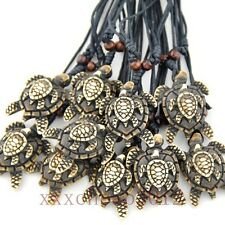 Wholesale 12 pcs Brown Sea turtle Mother and Child pendant necklace W251