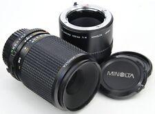MINOLTA MD Macro 100mm F4 + 1:1 true Macro Tube ===Mint===