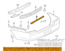 MITSUBISHI OEM 04-12 Galant Rear Bumper-Center Bracket 6410A030