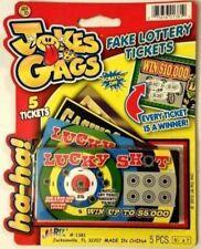 720 PHONY FAKE SCRATCH OFF ALL WINNING LOTTERY TICKETS GAG GIFT JOKE PRANK WINNE