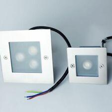 Artículos de iluminación de pared de interior de aluminio color principal plata 1-3 luces