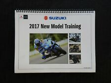 2017 SUZUKI GSX-R1000 RAL7 GSX250 GSX-S750 MOTORCYCLE NEW MODEL TRAINING MANUAL