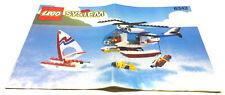 Lego ® 6342 sistema helicóptero de salvamento receta k86