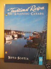 ULTRAMAR TRADITIONAL RECIPIES OF ATLANTIC CANADA,COOKBOOK #10 NOVA SCOTIA