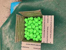 7 Dozen Volvik Vivid XT Green Golf Balls (Total of 84 balls) AAA+ condition