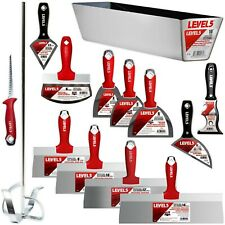 LEVEL5 #5-609 Finishing Tool Set 14 Pieces   STAINLESS STEEL   FREE Shipping