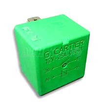 01-Peugeot 106 306 406 806 607 Partner 4-Pin Green Relay 03601 12V 25A G Cartier