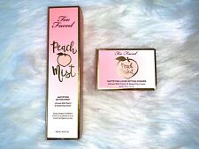 Too Faced Peach 2 Empty Boxes Packaging