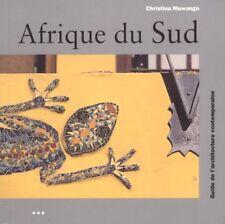 AFRIQUE DU SUD ARCHITECTURE KONEMANN MUWANGA + PARIS POSTER GUIDE