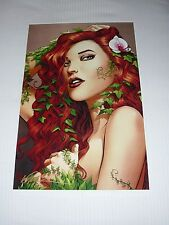 POISON IVY ART PRINT #2 SIGNED BY ARTIST - MIKE MILLER  11x17