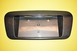 05 06 Nissan Altima License Plate Trim Bezel Molding Finish Panel OEM Gray